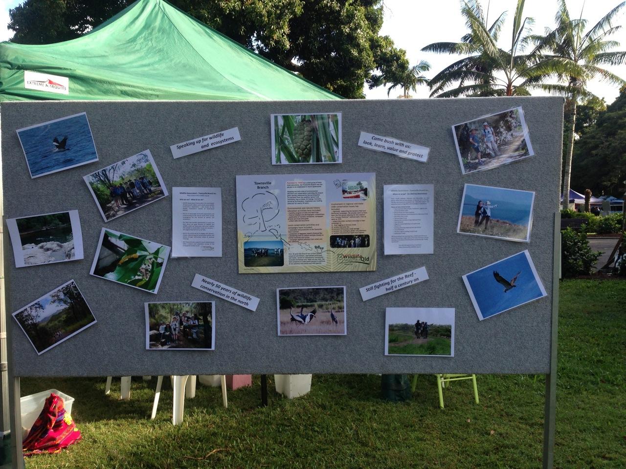 Branch activities display