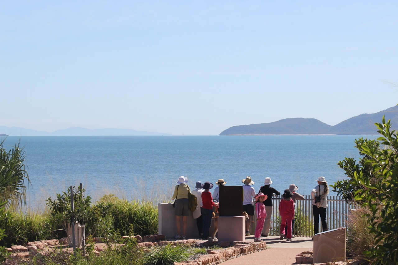Looking across Rowes Bay from the Garabarra lookout. Photo Malcolm Tattersall.