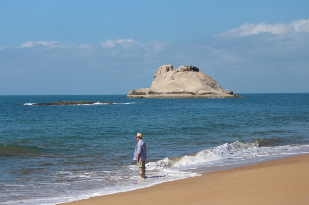 """Stunning!! The main beach with """"elephant rock"""". Photo Melissa Copnell."""