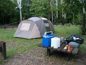 Camping at Alligator Creek